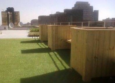 Planter boxes Roof top Container Garden