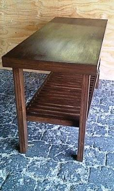 Kitchen Island Farmhouse series 1600 Mahogany stained