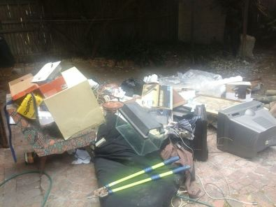 junk removal and mini bakkie to hire