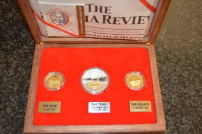 Liliesleaf - Nelson Mandela medallions