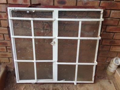 steel window frame second hand junk mail