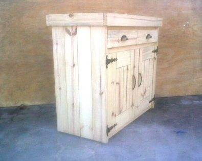 Kitchen Cupboard Base unit Farmhouse series 1000 Raw