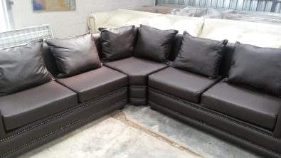 New Lounge suite corner unit L shape