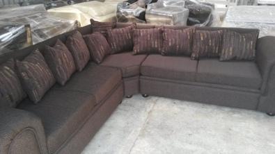 New Lounge suite corner unit L shape