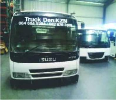 ISUZU FTR 800 FREIGHTER SITEC CAB FULL TRIM - REFU