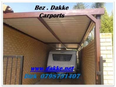 Vooraf Vervaardig Afdakke.  Prefabricated carports