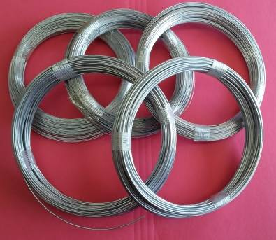BINDING WIRE (GALVANISED) 500g COILS