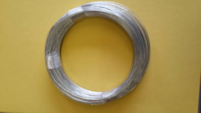 COILS OF GALVANISED BINDING WIRE (500g)