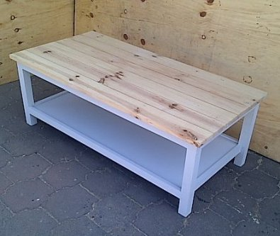 Coffee table Cottage series 1400 Two tone