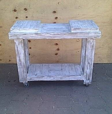 Butchers Block Farmhouse series 1150 Mobile 2 humps Weathered look