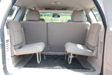 Toyota Fortuner Rear Seats Jump