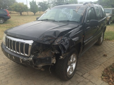 Jeep Grand Cherokee 4.7 V8 Overland Stripping