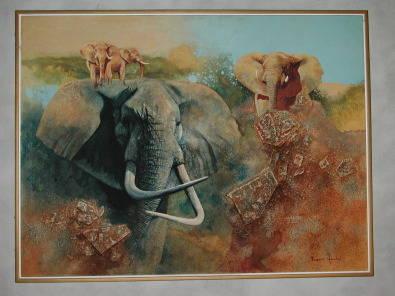 Elephants Rupert Hanley