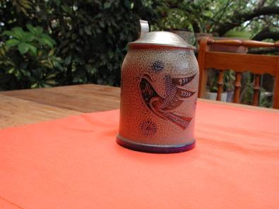 Beermugs (originals) with zinc lids