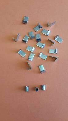 GALVANISED J CLIPS