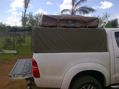 C&ing Ripstop canvas canopies for bakkies & Camping Ripstop canvas canopies for bakkies | Junk Mail