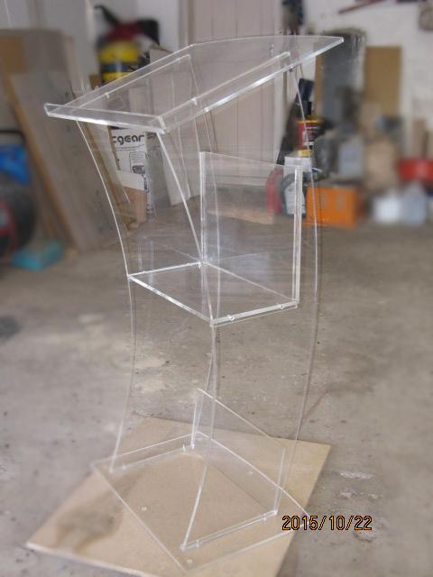 Custom Made Clear Style Acrylic Podiums