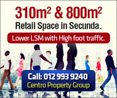 Retail Space Available in Secunda