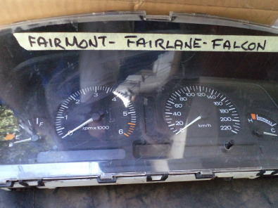 ford falcon instrument panel.