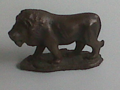 Statues of african animals from solid brass/bronze