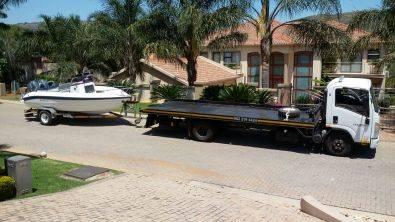 Trailer & Caravan Tranport Durban to Gauteng.