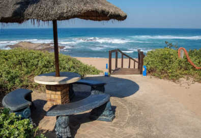 Self Catering Chalets - right on the beach  - The Aloes