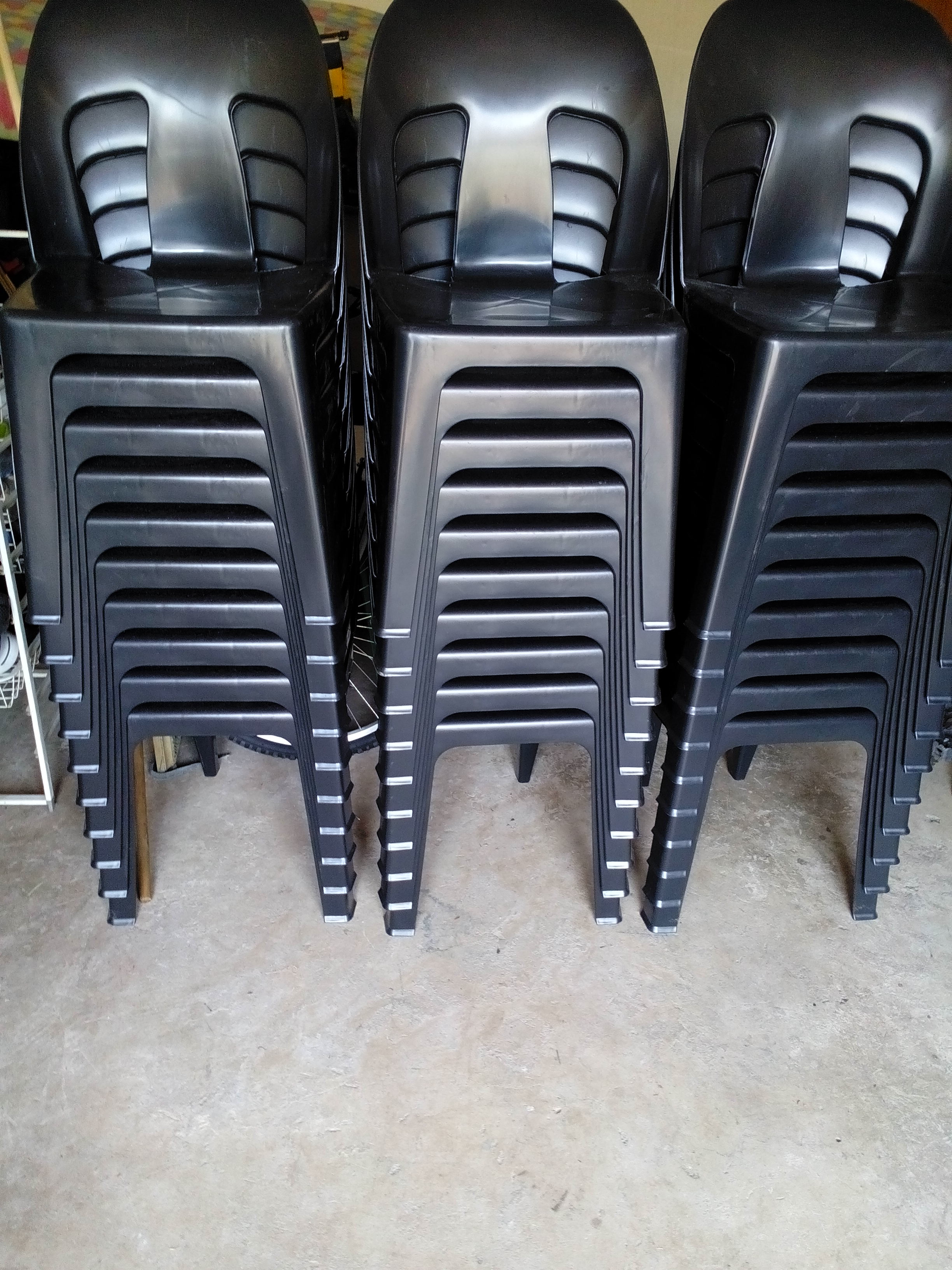 Heavy Duty plastic chairs for sale
