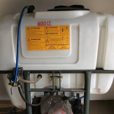 600 lt Agromaster Boom sprayer   Junk Mail