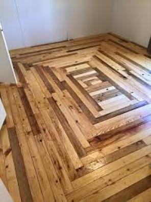 Sanding and installation of Wooden floors