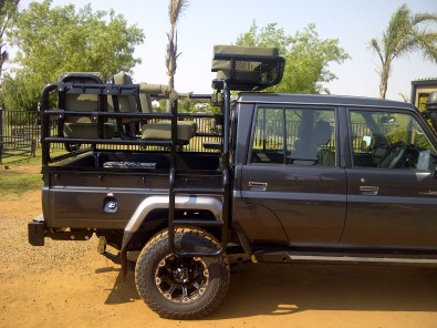 Toyota Cruiser double cab hunting frame complete