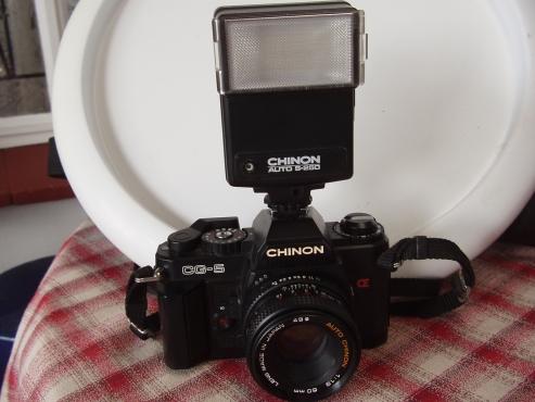 Chinon CG-5 Camera - 35mm - In excellent condition - in original case