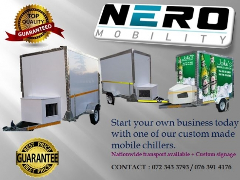 MOBILE FRIDGE & FREEZER ROOMS FOR SALE