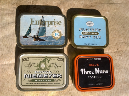 Collector's Tobacco Tins