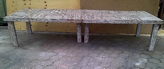 Patio table Farmhouse series 3600 Glazed