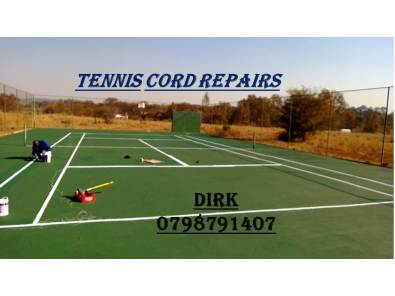 Tennis Court Repairs & maintenance