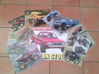 Tamiya Collectors Vintage Posters Trucks