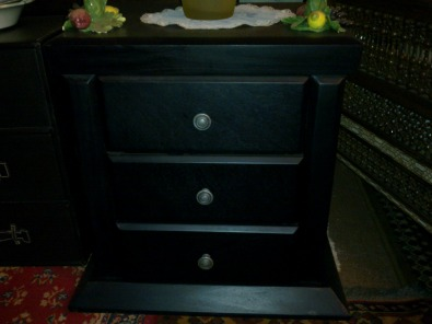 3 Drawer Solid Wood Cabinet