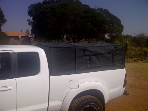 Mazda DC  light weight frame and canvas canopy