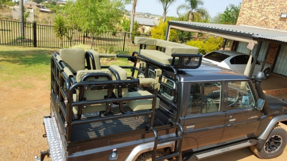 Land Cruiser double cab hunting frame