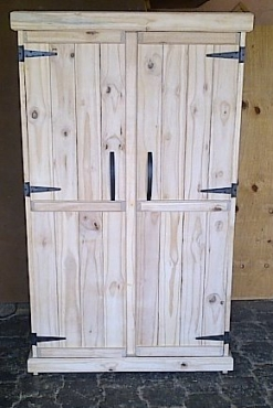 Kitchen Cupboard Farmhouse series Free standing 1700 with 2 doors Raw