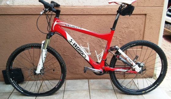 Specialized SWorks Carbon Fibre MTB