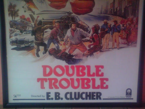 ORIGINAL DOUBLE TROUBLE COLLECTABLE VINTAGE MOVIE POSTER