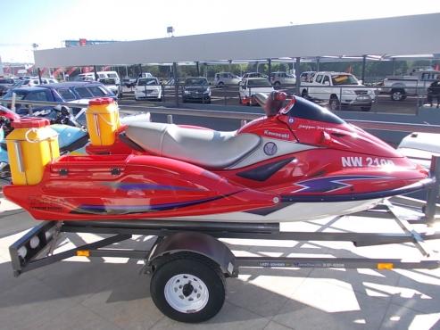 Kawasaki Deep Sea Ultra 150 Jet Ski with trailer | Junk Mail