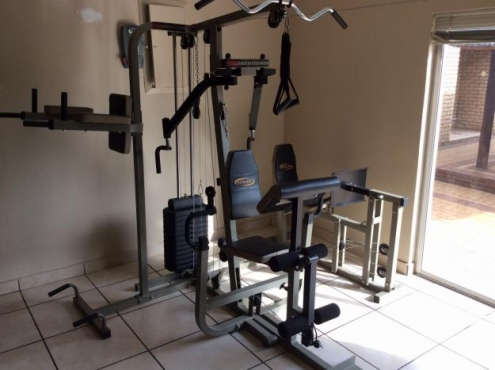 Trojan complete station home gym for sale in excellent working