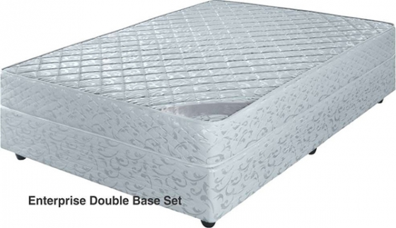 Beautiful comfortable double base and mattress set