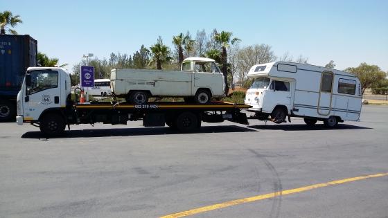VW Kombi & Classic Car Transport Upington to Gauteng.