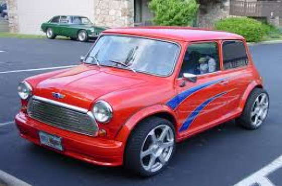 Mini Cooper windscreen
