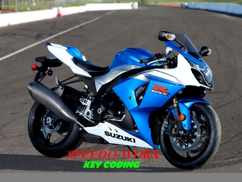 Suzuki GSXR bike key coding