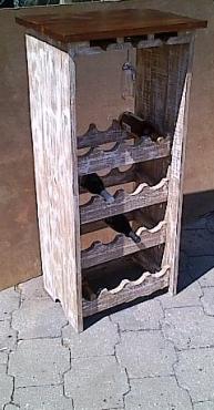 Wine rack Cottage series 1200 two tone/glazed
