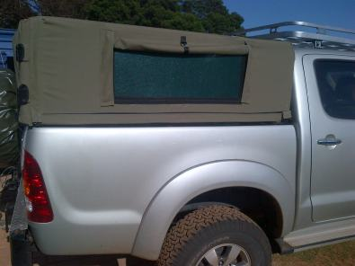 Bakkie Ripstop canvas canopy : canopies for bakkies - memphite.com
